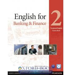 Учебник English for Banking and Finance 2 Students Book with CD ISBN 9781408269893 купить Киев Украина