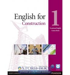 Учебник English for Construction 1 Students Book with CD ISBN 9781408269916 купить Киев Украина