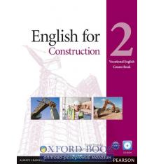 Учебник English for Construction 2 Students Book with CD ISBN 9781408269923