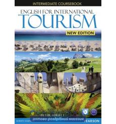 Учебник English for International Tourism New Intermediate Students Book with DVD ISBN 9781447923831 купить Киев Украина