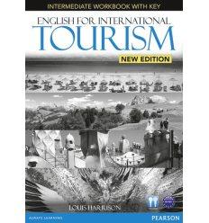 Рабочая тетрадь English for International Tourism New Intermediate Workbook with CD ISBN 9781447923855