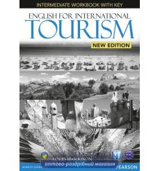 Тетрадь English for International Tourism New Intermediate workbook with CD 9781447923855 купить Киев Украина