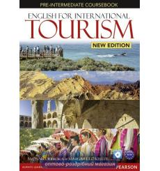 Учебник English for International Tourism New Pre-Intermediate Students Book with DVD ISBN 9781447923879 купить Киев Украина