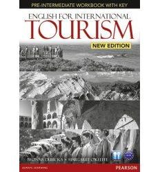 Рабочая тетрадь English for International Tourism New Pre-Intermediate Workbook with CD ISBN 9781447923893