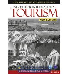 Тетрадь English for International Tourism New Pre-Intermediate workbook with CD 9781447923893 купить Киев Украина