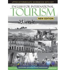 Тетрадь English for International Tourism New Upper-Intermediate workbook with CD 9781447923930 купить Киев Украина