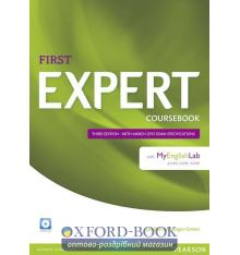 FCE Expert 3rd Edition (2015) Coursebook with CD with MyEnglishLab