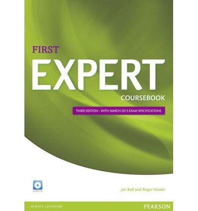 Учебник FCE Expert 3rd Edition (2015) Students Book with Audio CD ISBN 9781447962007