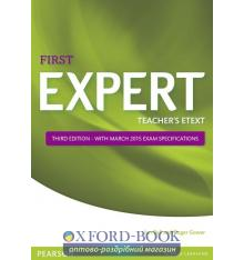 Книга FCE Expert 3rd Edition (2015) Teachers Text disc for workbook ISBN 9781447961338