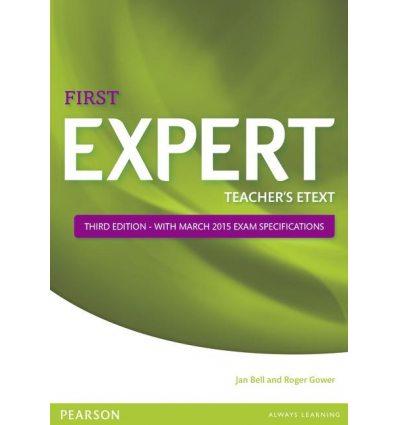 FCE Expert 3rd Edition (2015) Teachers Text disc for IWB
