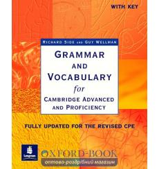 Книга Grammar and Vocabulary for CAE and CPE with key ISBN 9780582518216 купить Киев Украина