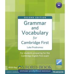 Книга Grammar and Vocabulary for FCE with key NEW ISBN 9781408290590 купить Киев Украина