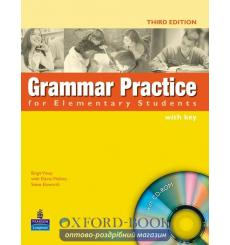 Grammar Practice for Elementary with key with CD 9781405852944 купить Киев Украина