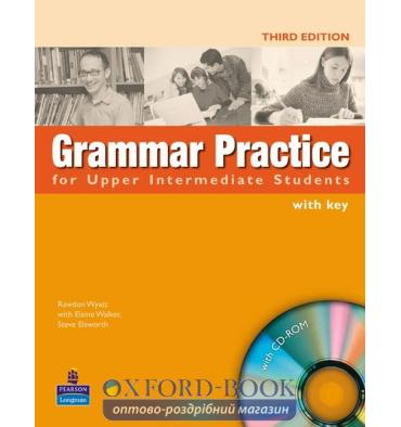 Grammar Practice for Upper-Interm with key with CD ISBN 9781405853002