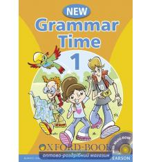 Учебник Grammar Time New 1 Students Book+CD ISBN 9781405866972
