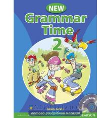 Учебник Grammar Time New 2 Students Book+CD ISBN 9781405866989