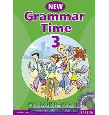 Учебник Grammar Time New 3 Students Book+CD ISBN 9781405866996