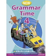Учебник Grammar Time 4 New Students Book with CD ISBN 9781405867009