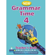 Книга для учителя Grammar Time 4 New Teachers Book ISBN 9781405852760