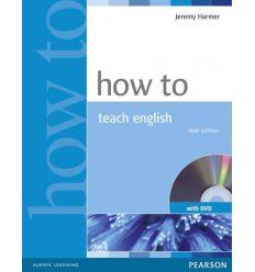 Книга How to teach English Book + DVD 2nd Ed ISBN 9781405853095