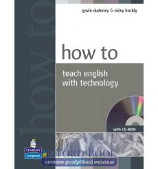 How to Teach English with Technology Book with CD New ISBN 9781405853088 купить Киев Украина