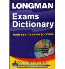 Рабочая тетрадь Longman Dictionary Exams Paper with Workbook with CD ISBN 9781405852630