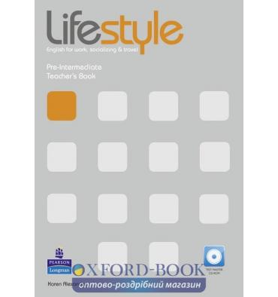 Книга для учителя Lifestyle Pre-Intermediate Teachers Book with CD ISBN 9781408237182
