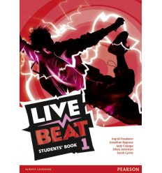 Учебник Live Beat 1 Students Book ISBN 9781447952688