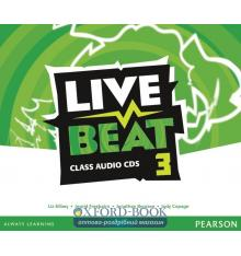 Live Beat 3 Class CD ISBN 9781447952848