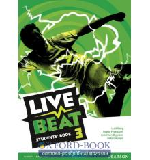 Учебник Live Beat 3 Students Book ISBN 9781447952930