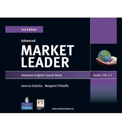 Market Leader 3rd Edition Advanced Audio CDs (3) ISBN 9781408219560