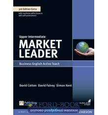 Книга Market Leader 3rd Edition Upper-Intermediate Active Teach ISBN 9781408259986