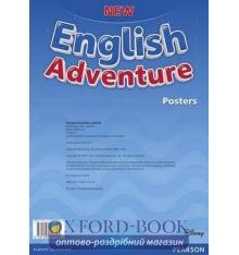 Книга New English Adventure Starter A Posters ISBN 9781292121109