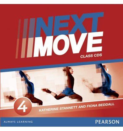 Next Move 4 CD ISBN 9781408293607