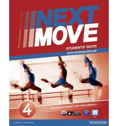 Учебник next move 4 Students Book ISBN 9781447943648