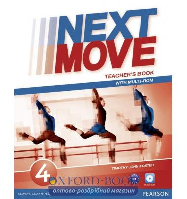 Книга для учителя Next Move 4 Teachers Book with CD ISBN 9781447943655