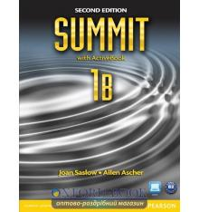 Учебник Summit 2nd Edition 1 split B Students Book with ActiveBook with Workbook ISBN 9780132679909
