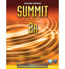 Учебник Summit 2nd Edition 2 split A Students Book with ActiveBook with Workbook ISBN 9780132679978