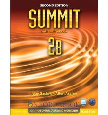 Учебник Summit 2nd Edition 2 split B Students Book with ActiveBook with Workbook ISBN 9780132680004