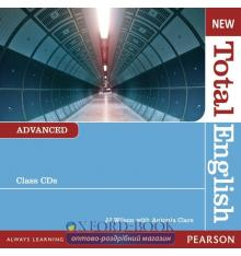 Диск Total English New Advanced Class Audio CDs ISBN 9781408254301
