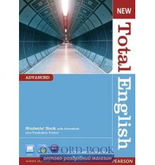 Учебник Total English New Advanced Students Book with Active Book ISBN 9781408267141