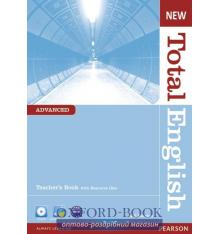 Книга для учителя Total English New Advanced teachers book with CD-ROM ISBN 9781408267257