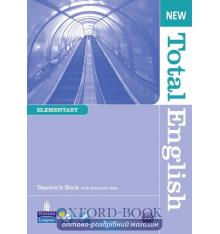 Книга для учителя Total English New Elementary Teachers Book with CD-Rom ISBN 9781408267264