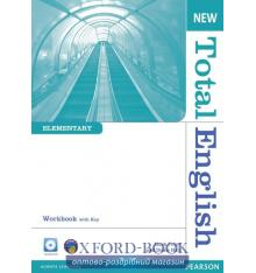 Рабочая тетрадь Total English New Elementary workbook with Answer Key & Audio CD ISBN 9781408267332
