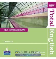 Total English New Interm CDs ISBN 9781408294288