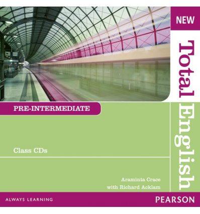 Диск Total English New Pre-Intermediate Class Audio CD ISBN 9781408254295