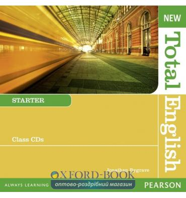 Диск Total English New Starter Class Audio CDs ISBN 9781408254318