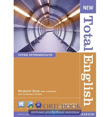 Учебник Total English New Upper-Interm Students Book with Active Book ISBN 9781408267240