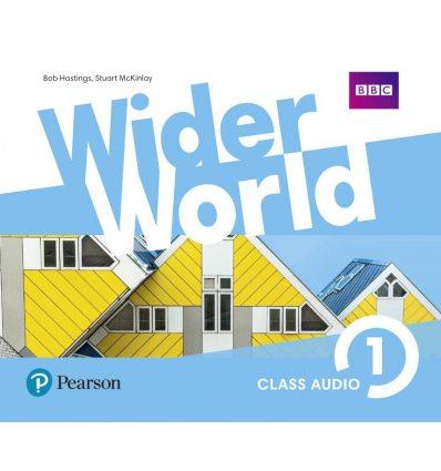Wider World 1 Class CD ISBN 9781292106298