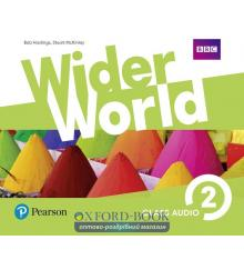 Wider World 2 Class CD ISBN 9781292106540